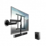 Vogels NEXT 8365 SoundMount Full Motion TV Wall Mount with Integrated Sound for 40 to 65 Inch TVs