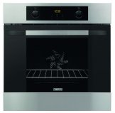 Zanussi ZOA35802XD Mulitfunctional single oven in stainless steel