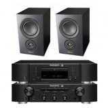 Marantz CD6006 & PM6006 UK Edition Black with Mission LX2 Speaker Pair