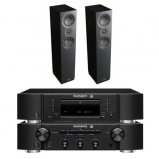 Marantz CD6006 & PM6006 UK Edition Black with Mission LX4 Speaker Pair
