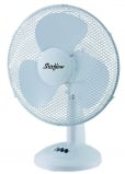 Stirflow 12 Inch 3 Speed Oscillating and Tilt Action Desk Fan