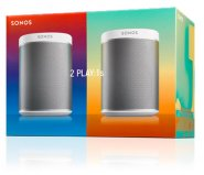 Sonos PLAY: 1 Starter Pack - 2 x Wireless Hifi Speakers in White