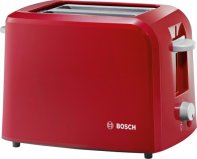 Bosch TAT3A014GB Toaster in Red