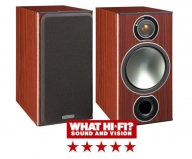 Monitor Audio Bronze 2 Bookshelf Speakers in Rosemah