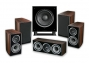 Wharfedale Diamond 11.1 5.1 Home Cinema Package Walnut