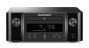 Marantz Melody X MCR612 HiFi Network System Black with Monitor Audio Bronze 6 Speakers Black Oak