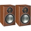 Monitor Audio Bronze 1 Bookshelf Speakers in Walnut Including 5 Year Warranty