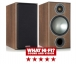 Monitor Audio Bronze 2 Bookshelf Speakers in Walnut Including 5 Year Warranty