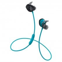 Bose SoundSport Wireless In-Ear Headphones in Aqua Blue