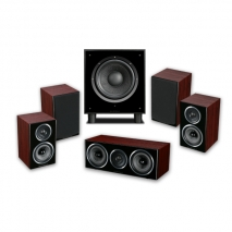 Wharfedale Diamond 11-HCP 5,1 Home Cinema Package in Rosewood