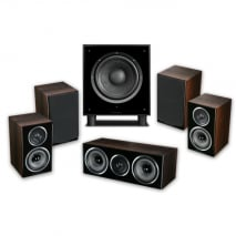Wharfedale Diamond 11-HCP 5.1 Home Cinema Package in Walnut