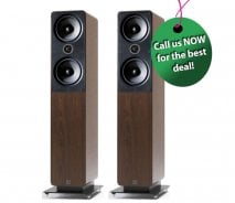 Q Acoustics 2050i Floorstanding Speakers in Walnut (1 Pair)