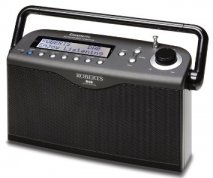 Roberts radio Classiclite DAB/FM RDS digital portable radio in Black