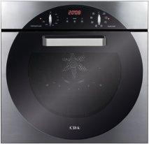 CDA 6Q5SS 60cm Electric Single Oven in Stainless Steel with With 5Yr Parts Guarantee