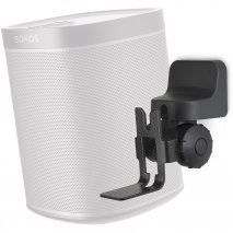 Alphason AS1001B Sonos PLAY:1 Swivel and Tilt Wall Bracket in Black - Single