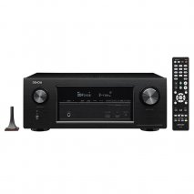 Denon AVRX2300W 7x 150W Full 4K Ultra HD Network A/V Receiver with Wi-Fi Bluetooth and Advanced Video Processing