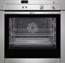 NEFF B44M42N3GB Single oven Stainless steel with Slide and Hide