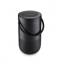 Bose Portable Home Speaker Smart Bluetooth Wireless with Streaming Alexa Google Assistant and Airplay 2 Black