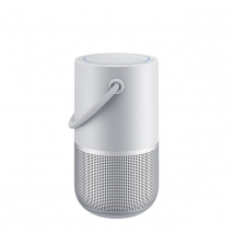 Bose Portable Home Speaker Smart Bluetooth Wireless with Streaming Alexa Google Assistant and Airplay 2 Luxe Silver