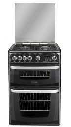 Hotpoint CH60GCIK Gas Cooker in Black