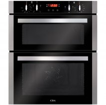 CDA DC740SS Built-Under Double Electric Oven in Stainless Steel