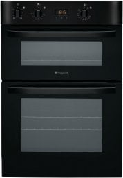Hotpoint DH53KS 60cm Wide Built In Electric Double Oven in Black