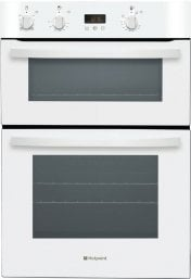 Hotpoint DH53WS 60cm Wide Built In Electric Double Oven in White