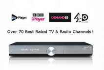 Humax YOUVIEW DTRT1010-1TB HD Limited Edition Silver