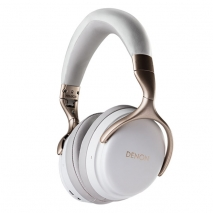 Denon AHGC30 Premium Wireless Noise Cancellation Headphones White 1