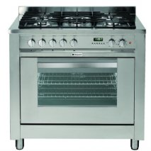 Hotpoint EG900XS 90cm Wide Range Cooker in Stainless Steel