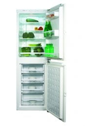 CDA FW951 55cm Wide Integrated Combination 50/50 Frost Free Fridge Freezer in White