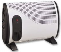 PRO-ELEC HG0058102 2000W Convector Heater With Turbo in White