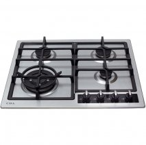 CDA HG6350SS 60cm Gas Hob in Stainless Steel