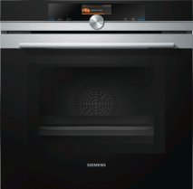 Siemens HM656GNS1B iQ700 Oven with Microwave in Black and Stainless Steel