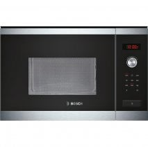 Bosch HMT84M654B Serie 6 Compact Integrated Microwave Oven in Brushed Steel
