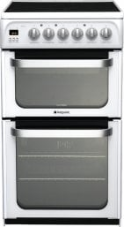 Hotpoint HUE52PS 50cm Freestanding Electric Cooker Polar White