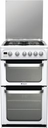 Hotpoint HUG52P 50cm Freestanding Gas Cooker in Polar White