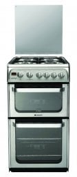 Hotpoint HUG52X 50cm Gas Cooker Stainless Steel