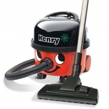 Numatic Henry HVR200-12 Cylinder Vacuum Cleaner in Red