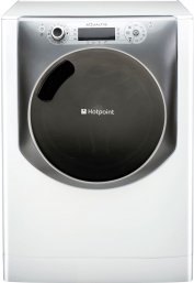 Hotpoint AQ113F497E 'Aqualtis' 11Kg Washing Machine with 1400rpm Spin in Polar White
