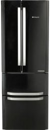 Hotpoint FFU4DK 4 Door Fridge Freezer in Black