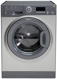 Hotpoint WDUD9640G 'Ultima' 9Kg Washer Dryer in Graphite with 6Kg Drying Capacity