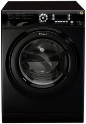 Hotpoint WDUD9640K 'Ultima' 9Kg Washer Dryer in Black with 6Kg Drying Capacity