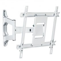 Vivanco MA4750W TITAN Tilt and Swivel Wall Bracket in White for screens 32-47 inch EDP 30672