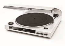 Dual MTR-15 Full Automatic Turntable in White with USB out