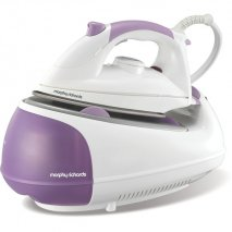 Morphy Richards 42244 Jet Steam Diamond Purple & White non Pressurised Steam Generator Iron