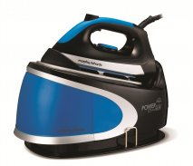 Morphy Richards 330012 Pressurised Steam Generator Surge Blue Black 6.5 Bar Surge 300g Ionic Steam Iron