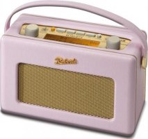 Roberts RD60 Revival DAB Digital Radio in Pastel Pink