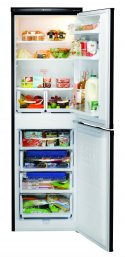 Hotpoint RFAA52K Combi Fridge Freezer in Black