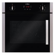 CDA SC620SS Single Electric Multifunctional Fan Oven in Stainless Steel with Side Opening Door - Free 5Yr Parts, 2Yr Labour Guarantee via Registration